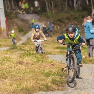 © Jon Hunnålvatn Tøn, Bornas sykkelfestival i Myrkdalen 29.-30.august
