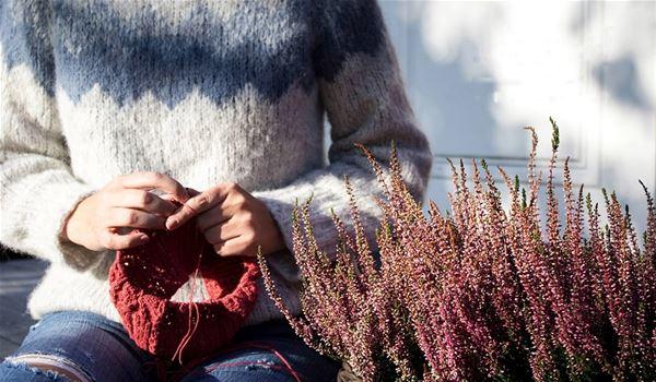 Strikkehelg i Myrkdalen 23.-25. Oktober