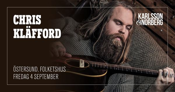 © Copy: https://www.facebook.com/events/237401527430606/, FRAMFLYTTAD - Chris Kläfford med band