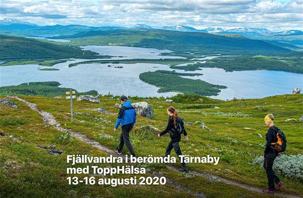 Fjällvandra i berömda Tärnaby med ToppHälsa