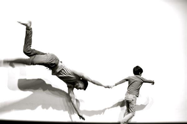 Dansworkshop för pappor och barn
