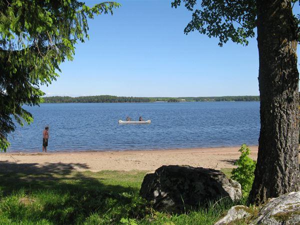 Falkudden Camping, Cafe och Stugby
