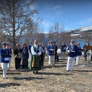 Friluftskonsert med Narvik Skolekorps og LKAB Musikkorps