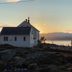 Spend the night at Barøy Lighthouse