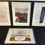 Utställning - Kia Larsen, bilder av konsthantverk