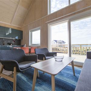 © Camp Solbergfjord, Kitchen and sitting area