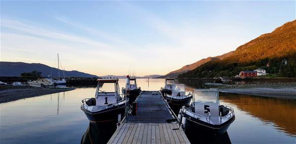© Jæger Adventure Camp, floating jetty