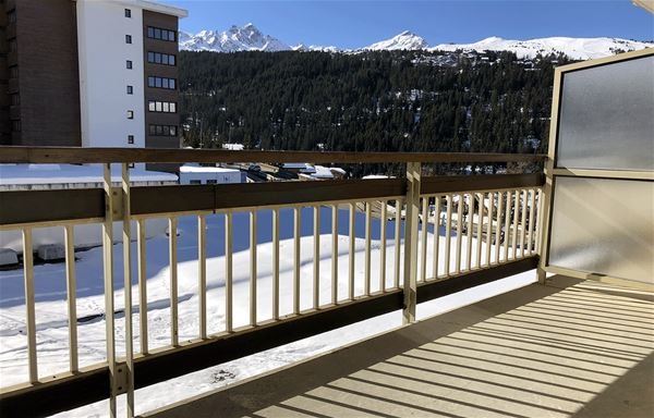 2 rooms 4 people (2 adults - 2 children) ski-in ski-out / OURSE BLEUE 403 (mountain of charm)