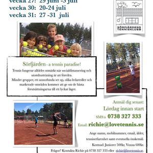 Sörfjärdens TK,  © Sörfjärdens TK, Tennisskola