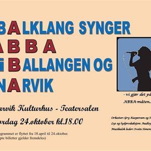 Balklang synger ABBA