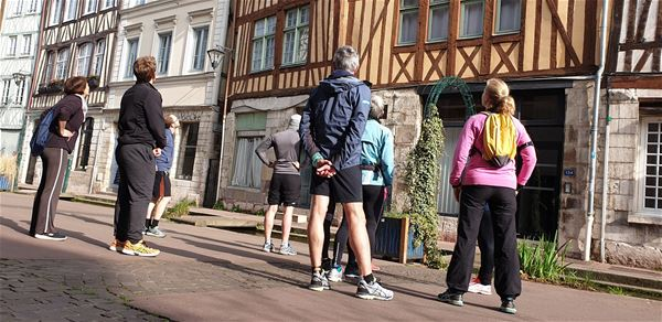 Footing culturel, visite sportive (running ou marche rapide)