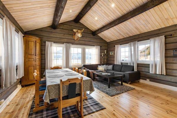 © Dyrøy Holiday, Innsiden av Seafront lodge
