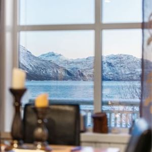 © Dyrøy Holiday, From the inside of seafront appartment