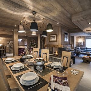 8 rooms 12 people Ski-in Ski-out / CHALET LE GENEPI (Montagne de Rêve)