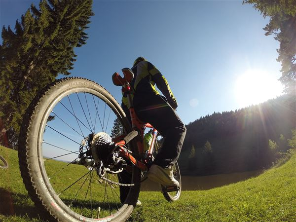 Try out mountainbike in Brunflo Bike Park!