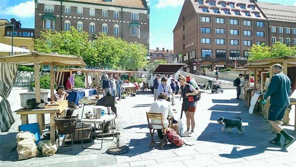 Local Market at Stortorget