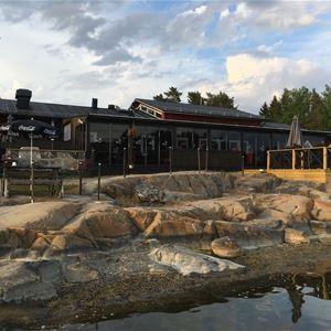 Sunnanö camping i Öregrund