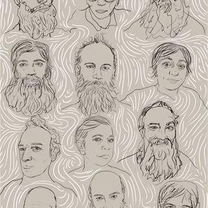 Teckning med många ansikten