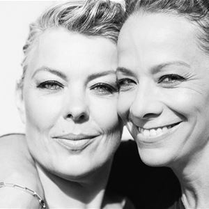 Lise Hummel och Gertrud Stenung