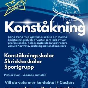 Skridskoskola hos IF Castor Konståkning