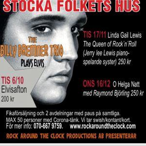 Rock Around The Clock Productions,  © Rock Around The Clock Productions, linda gail lewis, musikkväll, stocka