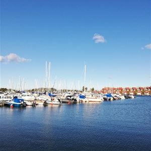Guest harbour at Herrängs Marina