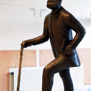 Joel Bergroth, Skulpturvandring i centrala Hudiksvall