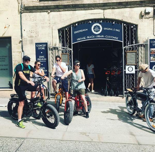 Montpellier et la petite Camargue à vélo avec EbikePremium