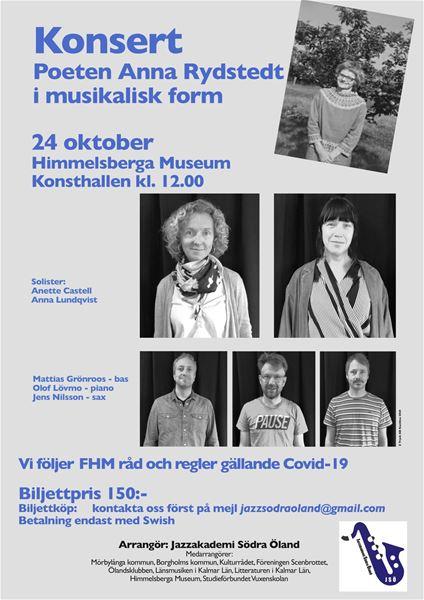 Poeten Anna Rydstedt i musikalisk form
