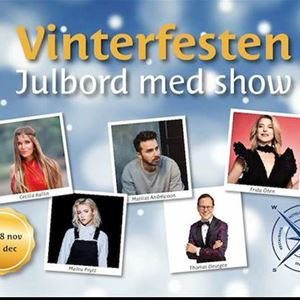 Artister till årets julshow