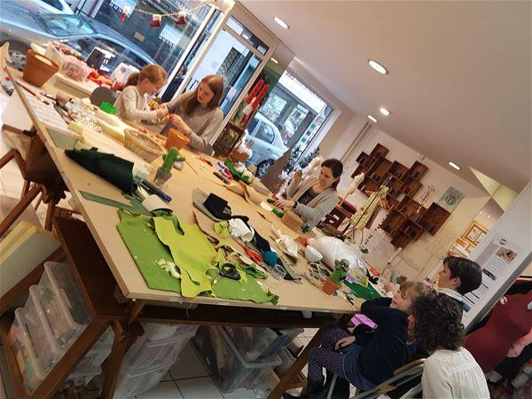 HALLOWEEN : atelier initiation couture ou sculpture pour enfants