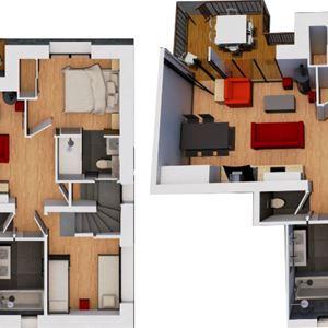 © M.Brun, HPM146 - Votre appartement COSY dans le chalet HYGGE :