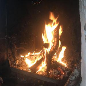 Mörkertrail/promenad med mys kring elden!