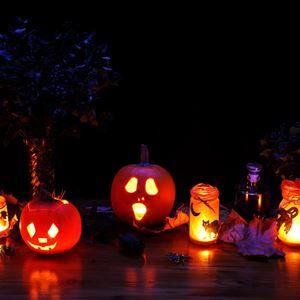 Halloweenparty på Bourbon Corner
