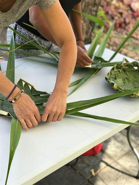 Atelier tressage coco / Etang-Salé