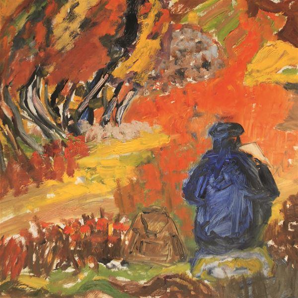 Exhibition: Örjan Noring - brave colorist and insightful rural painter