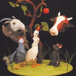 INSTÄLLT! Hedmans teater - Musen och Äpplet