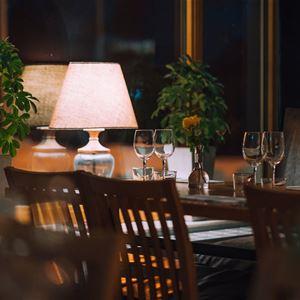 Restaurangen på hotellet.
