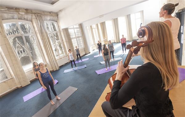 Stretching musical dans un lieu exceptionnel ! NOUVEAU