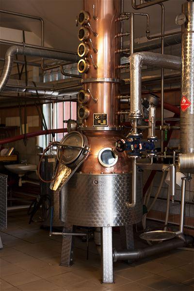 Ginprovning på Norrtelje Brenneri