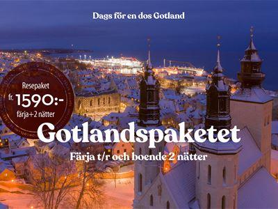 Das Gotland-Paket • Fähre + Hotel 2 Nächte