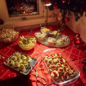 Julbord på Mormors Bakeri
