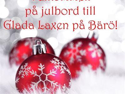 Glada Laxens julbordspaket på den lilla ön Bärö