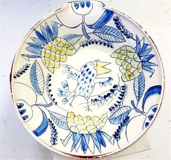 """""""Mellan skål och vägg II"""" keramik Åsa Olofsson"""