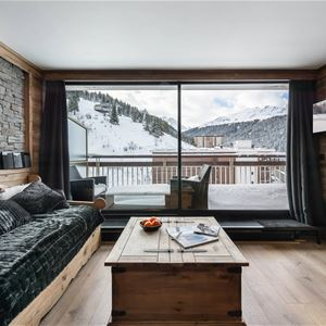 2 rooms with mountain corner 5 people ski in-ski out / OURSE BLEUE 903 (Mountain of Charm) / Tranquillity Booking