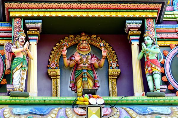 Visite guidée du Temple Narassingua Peroumal