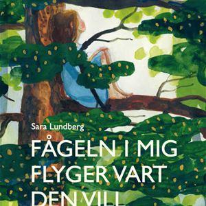 Visning och bokläsning i Sara Lundbergs utställning Det finns inget slut