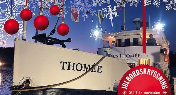 Julkryssning med M/S Thomée