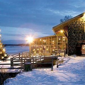 Julbord med ansvar på Axmar Brygga Havskrog