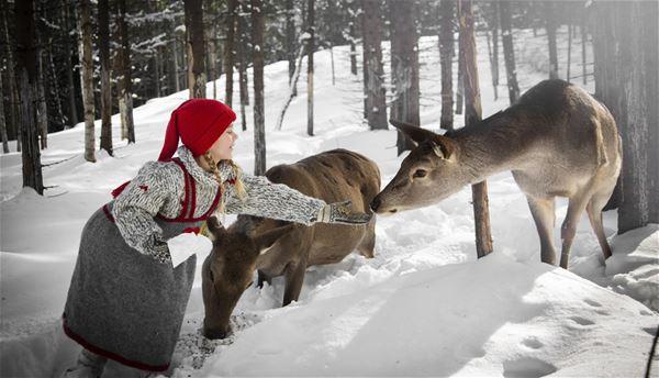 Jul på Barnas gård